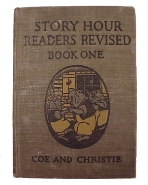Story Hour Readers 1923 Revised Childrens Childs School Book
