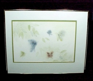 Jo Myers Walker 10 X 15 Signed Watercolor Painting 1970-1989