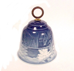 Bing And Grondahl 1986 Vintage Christmas Bell B&g China