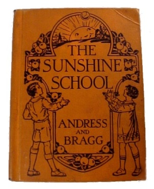 The Sunshine School 1928 Children's Reader Book