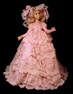 1963 Eegee Teen Doll W Sleep Eyes Pink Bouffant Dress Vintage 1960s