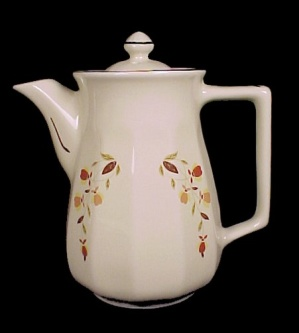Hall Autumn Leaf Bellevue Coffee Pot Jewel T Tea Nalcc