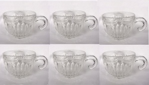 Lancaster Glass Royal #1425 Crystal Punch Cup Vintage