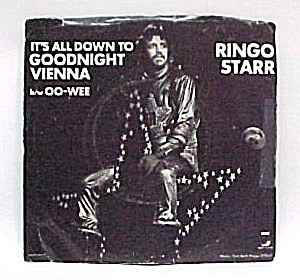 Ringo Starr 45 Rpm Record Oo-wee - Goodnight Vienna
