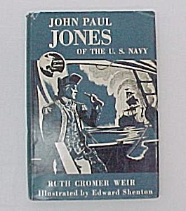 John Paul Jones Of Us Navy 1958 Ruth Weir Young Adult