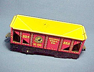 Marx Train Car Northern Pacific Railroad General Coal