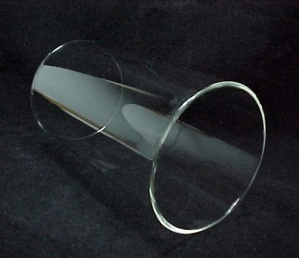 Cylinder 4 X 7 Tube Light Lamp Shade Glass Wall 5mm Sconce Holder