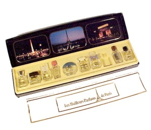 Les Meilleurs Parfums De Paris 9 Miniature Bottles In Box Mini France