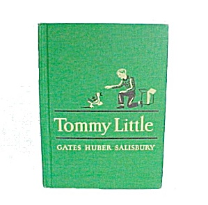 Tommy Little Vintage 1951 1957 Macmillan School Reader Book