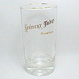 Kentucky Tavern Bourbon Drink Glass Water Tumbler