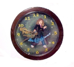 Harry Potter Sorcerer's Story Wall Clock With Hermione