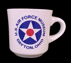 Us Air Force Museum Dayton Oh Souvenir Coffee Mug Cup