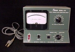Thomas Linear Electric Conductance/resistance Meter Vtg