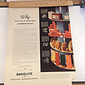 Colorful Bakelite Color Ad