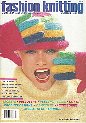 Fashion Knitting Book 1982