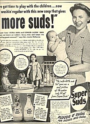 "Super Suds ""dishes And Duds"" Soap"