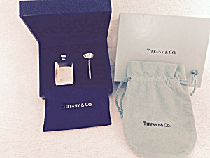 Authentic Tiffany & Co Sterling Silver Perfume Bottle