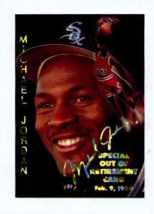 1995 Sports Stars Usa Out Of Retirement Card