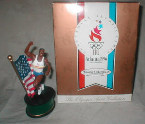 1996 Olympic Track And Field Figurine