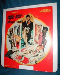 Rca Ced Video Disc - Live And Let Die