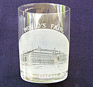 Columbian Expo Etched Tumbler