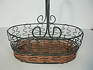 Green Pine Tree Basket