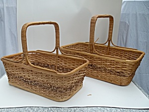 Market Baskets, 2 Different Sizes