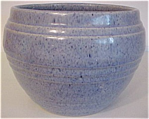 Pacific Pottery Early Blue Drip Jardiniere