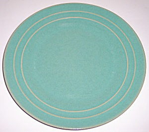 "Pacific Pottery Hostess Ware 11"" Green Plate"