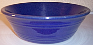 Pacific Pottery Hostess Ware Cobalt Pudding Dish