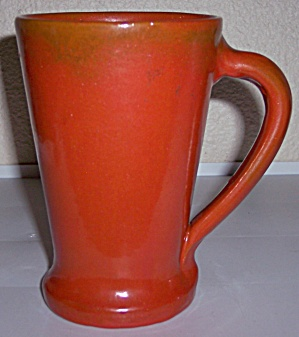 Catalina Island Pottery Toyon Red Large Handled Mug