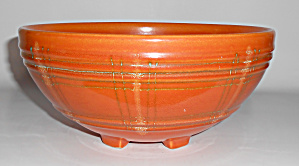 Pacific Pottery Decorated Hostess Ware Punch Bowl