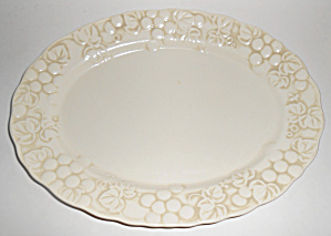Metlox Pottery Poppy Trail Antique Grape Large Platter