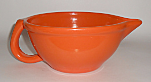 Metlox Pottery Poppy Trail 200 Orange Handled Batter