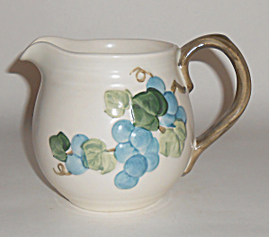 Metlox Pottery Poppy Trail Sculptured Grape 24oz Pit