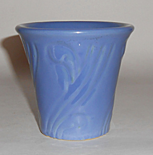 Pacific Pottery Early Art Deco 3.5 In Delph Flower Pot