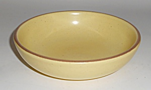 Metlox Pottery California Tempo Yellow Cereal Bowl