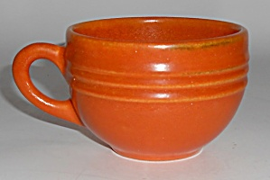 Pacific Pottery Hostess Ware Apache Red Punch Cup Mint
