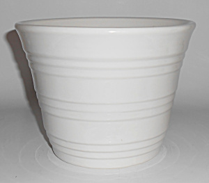Pacific Pottery Gloss White #1571 Flower Garden Pot Min