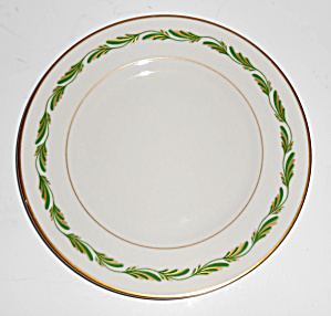 Franciscan Pottery Fine China Arcadia Green Bread Plate