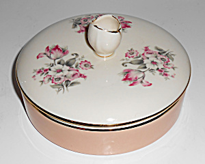 Franciscan Pottery Kaolena Fine China Floral Covered