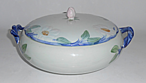 Franciscan Pottery Twilight Rose Casserole W/lid