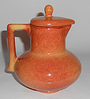 Franciscan Pottery El Patio Golden Glow Syrup Pitcher