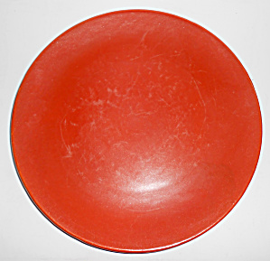 Catalina Island Pottery Toyon Red Chop Plate Buy-it-now