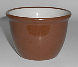 Weller Pottery Early Utility Ware Custard Cup