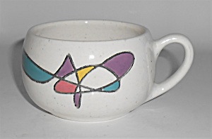 Metlox Pottery Poppy Trail Mobile Coffee Cup