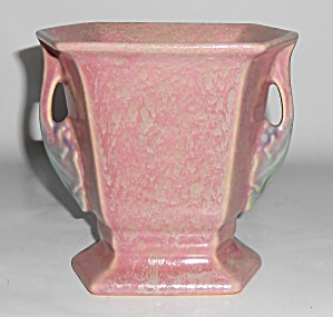 Roseville Art Pottery Tuscany Twin Handle Vase