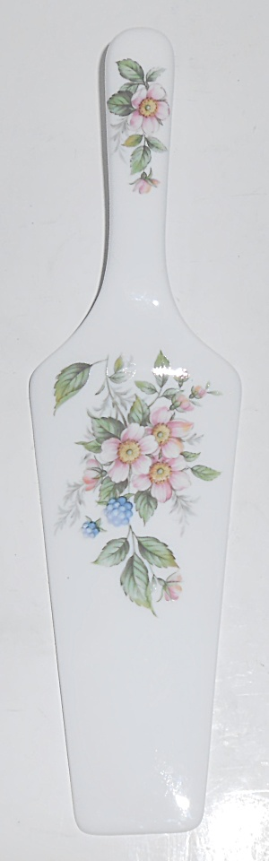 Sadek Porcelain China Amy Pink Floral Cake Knife