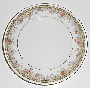 Noritake Porcelain China Morning Jewel Bread Plate