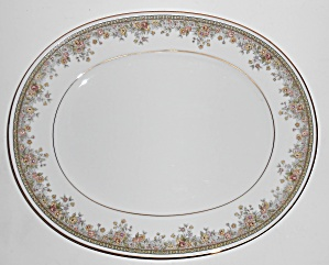 Noritake Porcelain China Ireland Morning Jewel Platter